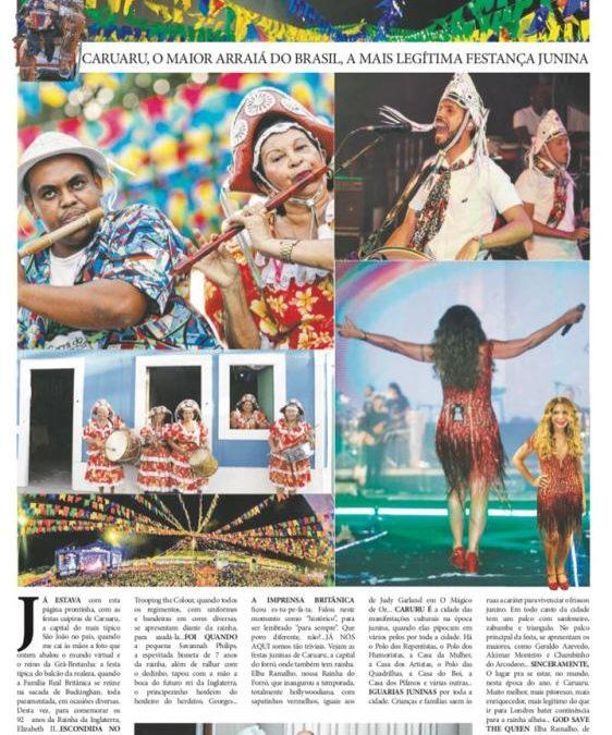 Festa Junina de Caruaru é destaque no Jornal do Brasil b43a5131467