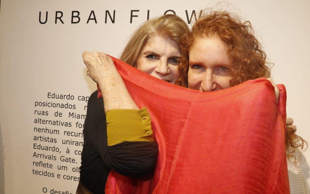 Alexia Dechamps visita exposição