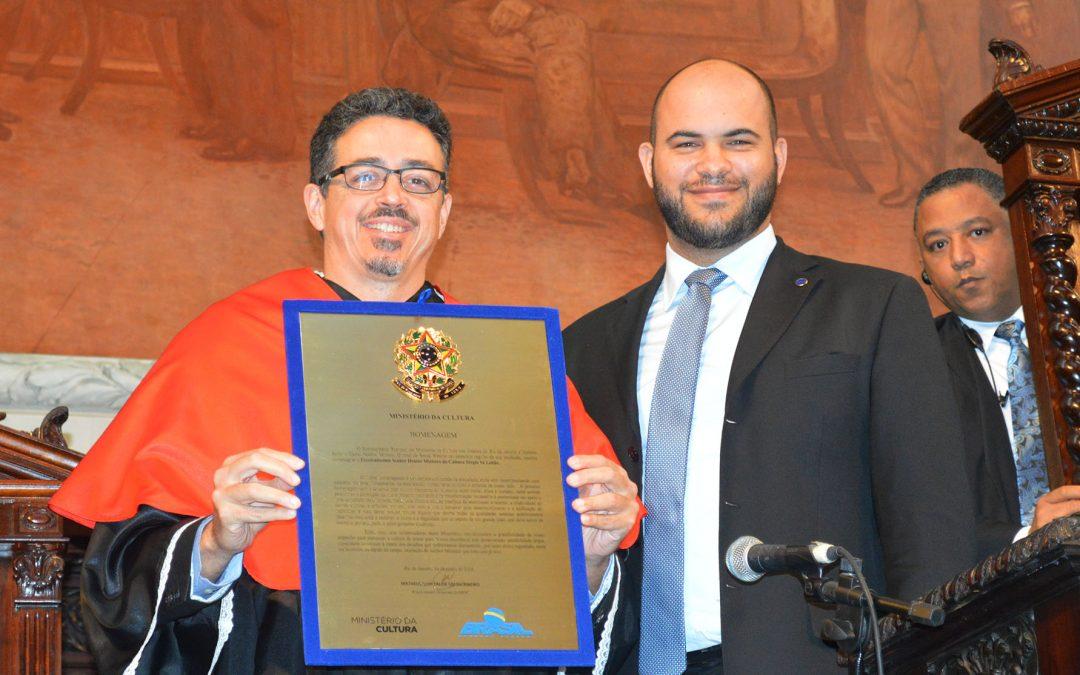 Sergio Sá Leitão recebe Medalha Tiradentes