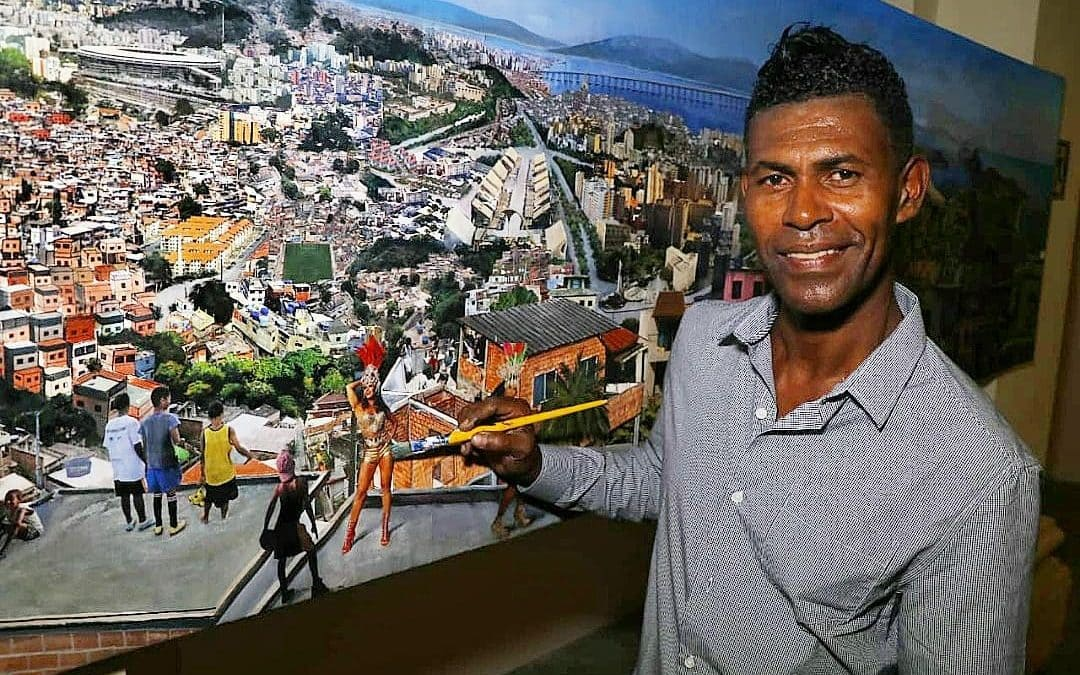 Casa França Brasil apresenta o artista plástico Jambeiro