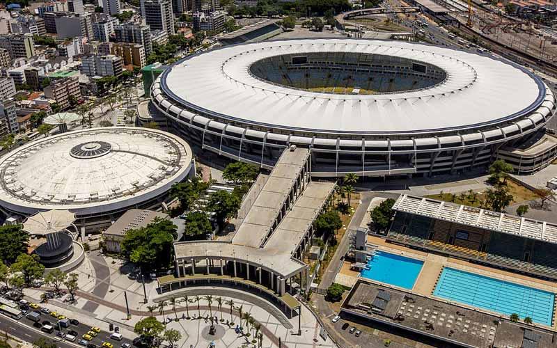 Estádio Jornalista Mário Filho, mais conhecido como Maracanã