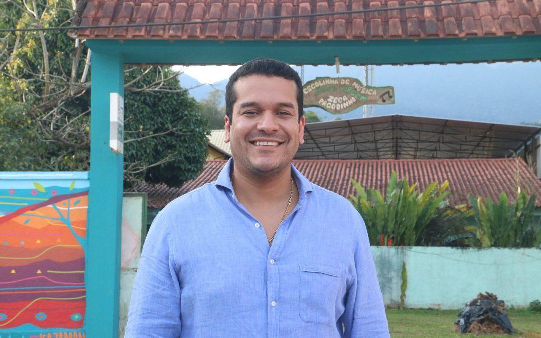 Secretário de Cultura visita Instituto Zeca Pagodinho