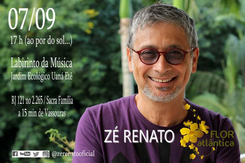 Zé Renato em Labitinto Musical no Uaná Etê