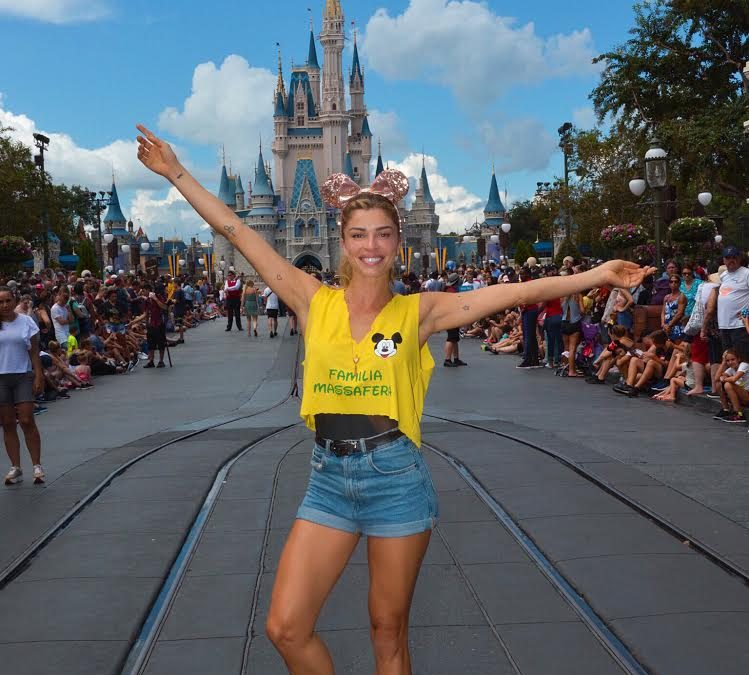 Atriz Grazzi na  Walt Disney World