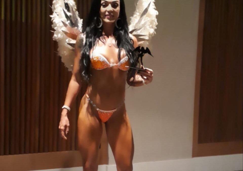 Brasil Fitness Show prêmia Raquel Lima