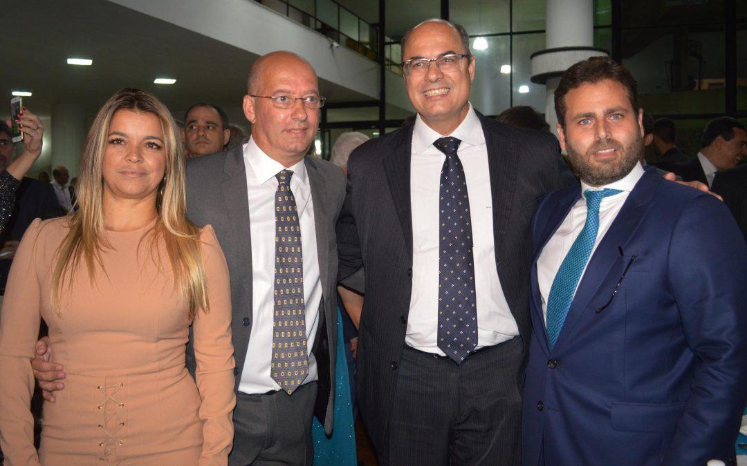 Futuro governador Wilson Witzel no Hebraica Rio