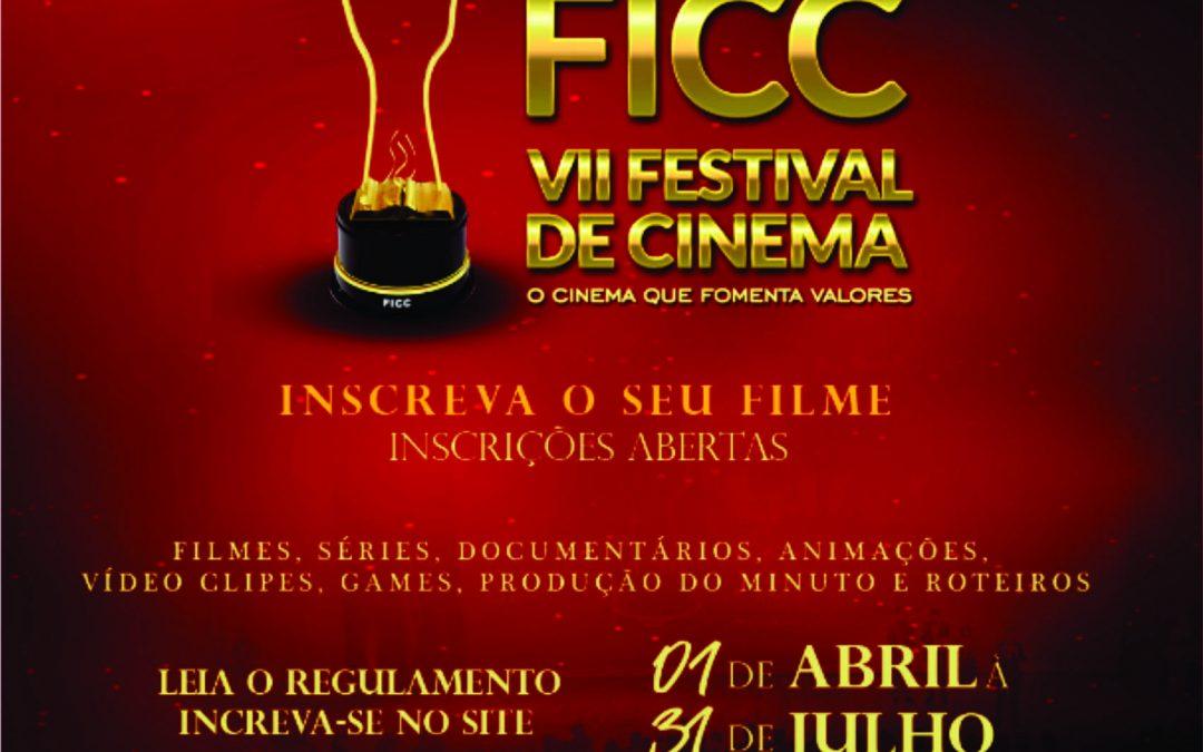 FESTIVAL DE CINEMA FICC FECHA PARCERIA COM A SECEC E FARÁ DA 7ª EDIÇÃO A MAIOR DA SUA HISTÓRIA