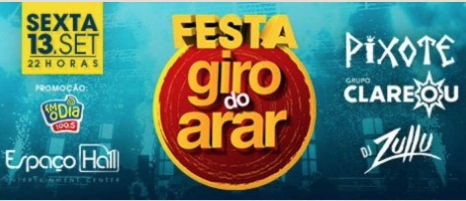 Marcelo Arar apresenta: Festa Giro do Arar
