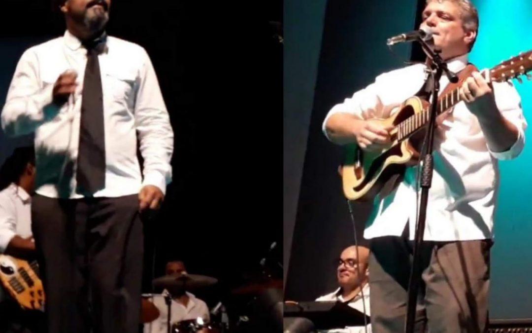 ROGÉRIO SILVESTRE em TRIBUTO AO GONZAGUINHA e  HOMENAGEM AO DJAVAN duas únicas apresentações