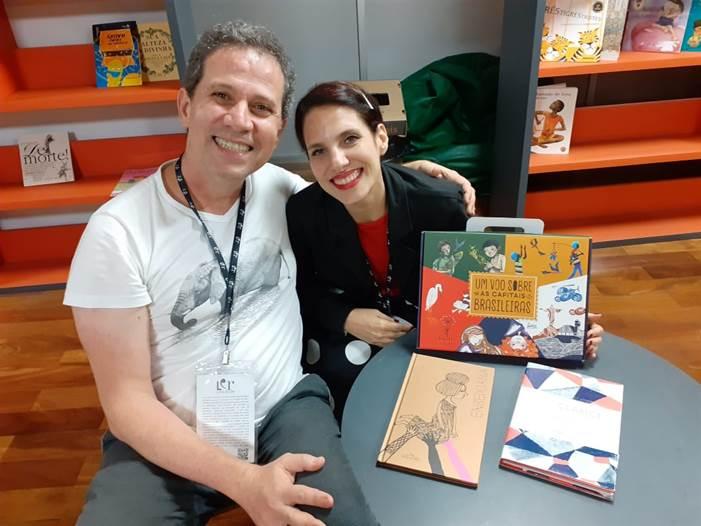 A autora Gisela de Castro participa da LER – Salão Carioca do Livro na B.P.E