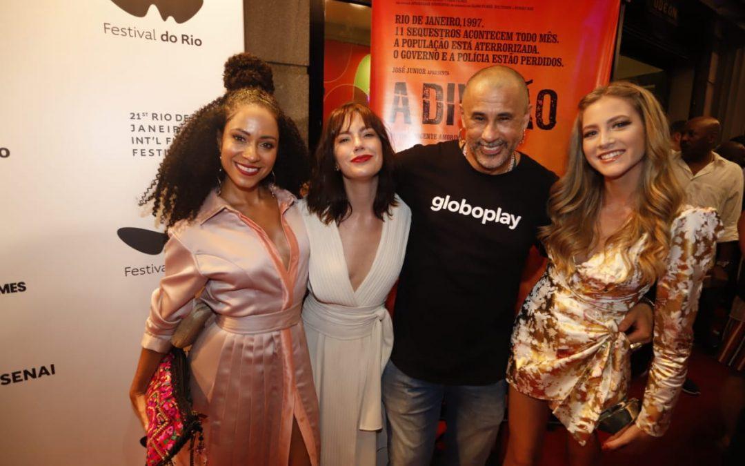 Lançamento do Filme A Divisão no Cine Odeon
