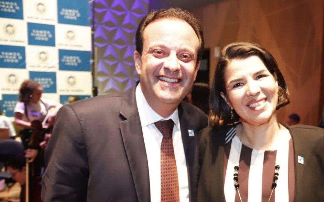 Secretário da Casa Civil prestigia a posse de Danielle Barros