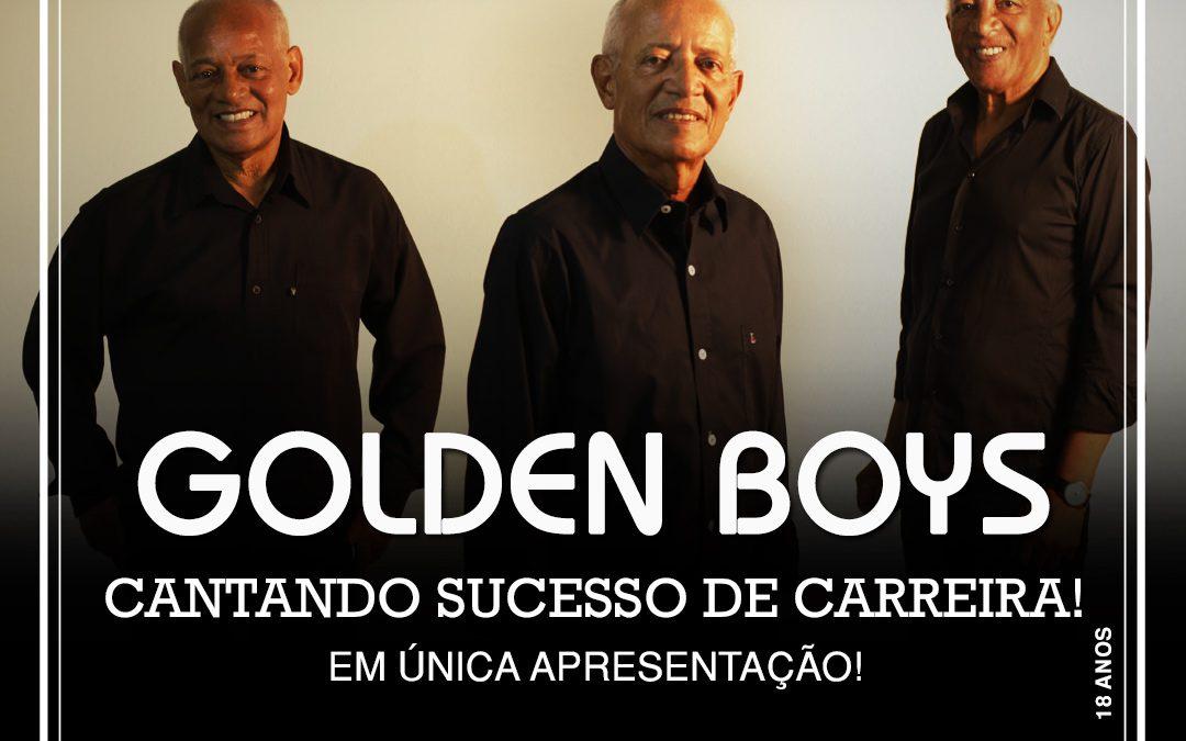 Golden Boys abrem a temporada 2020 com apresentação no Teatro Rival Refit