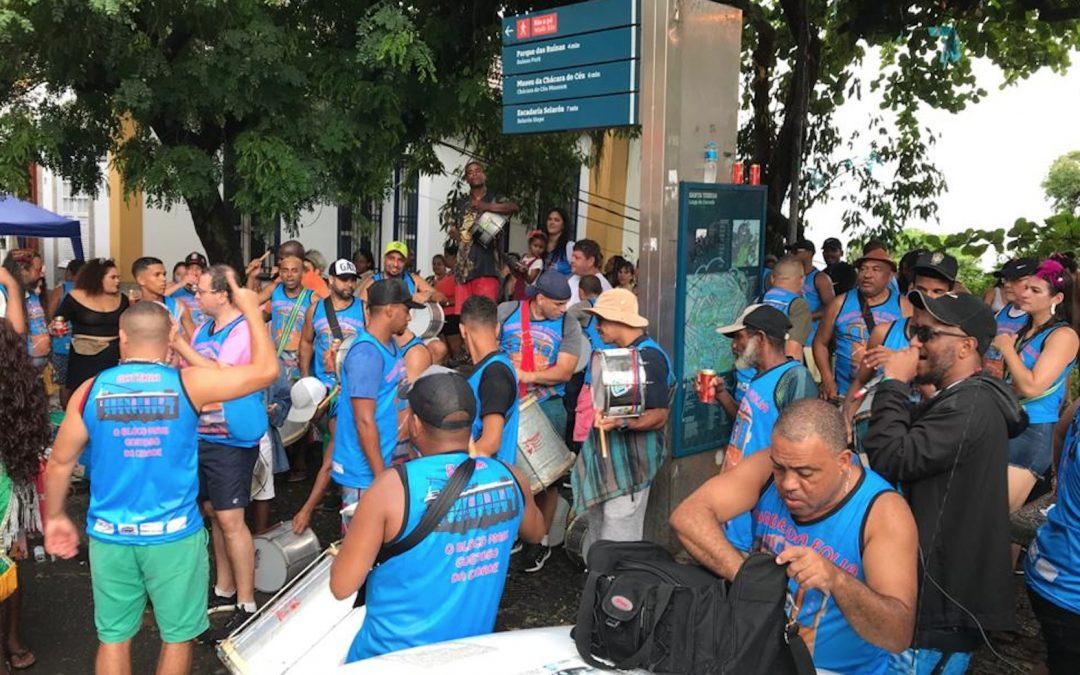 Bloco Bonde da Folia encerra carnaval em Santa Teresa