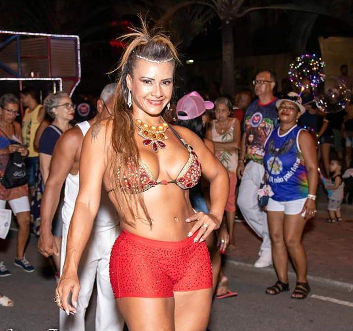 Patrícia Barros será musa no Carnaval de Vitória