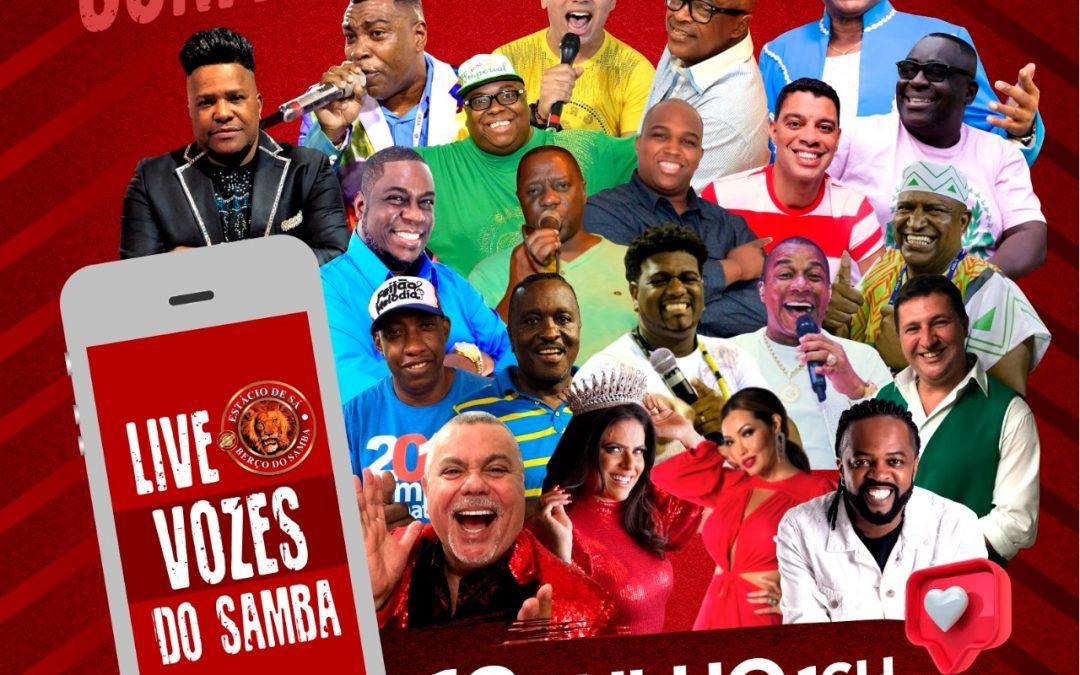 Vozes do Samba promete parar a internet