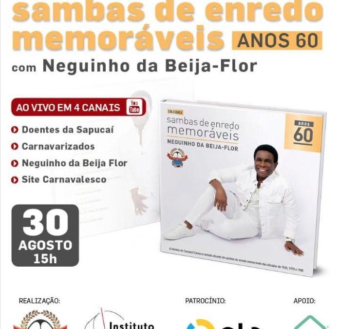 Show acontece dia 30/08, com Alexandre Araújo