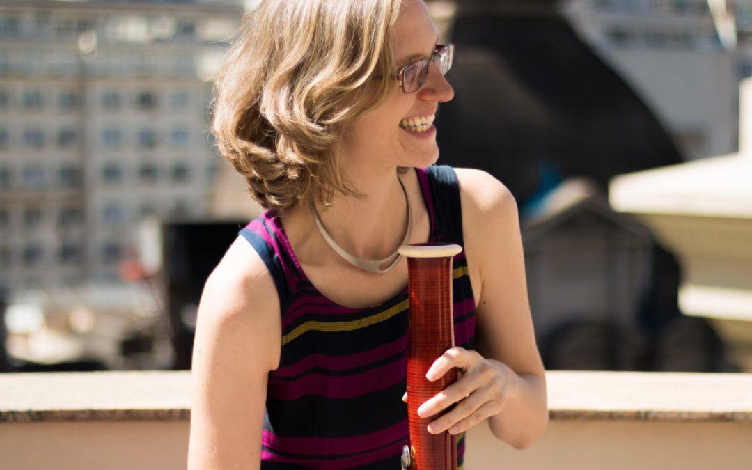 #AulaEmCasacom Ariane Petri, primeira fagotista da OSTMRJ