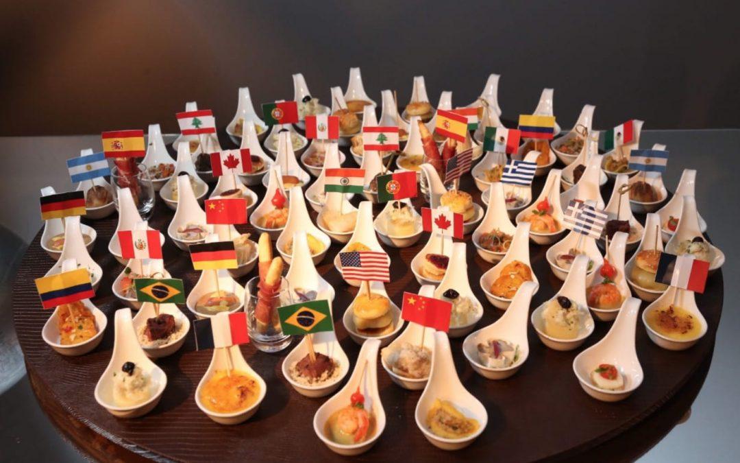 Grife de Buffet D.A Gastronomia traz de volta seu menu Sabores do Mundo