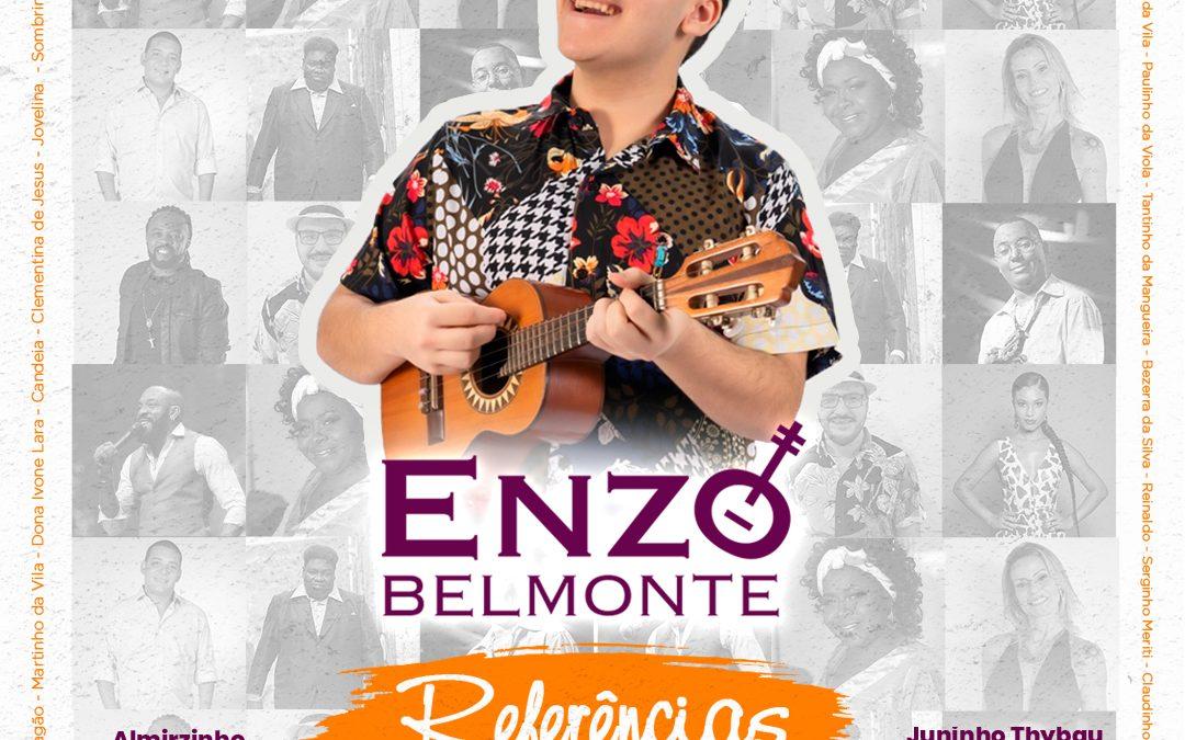 "Enzo Belmonte lança o álbum ""Referências"""